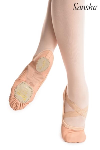 Sansha Canvas ballet slipper FLEX-1 331C
