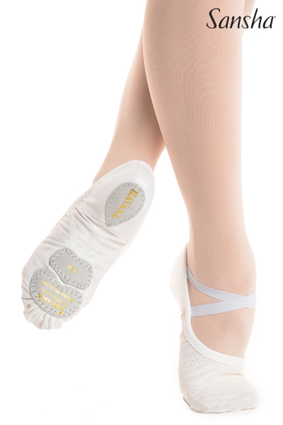 Sansha unique MESH ultra-light ballet shoe HAVANA 357X