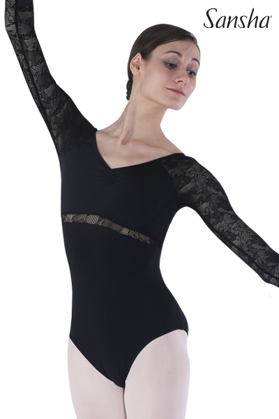 Sansha Long Sleeve Leotard LALAM 50BO1073P