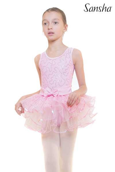Sansha sleeveless tutu dress TWINKLE 68AG0011MN