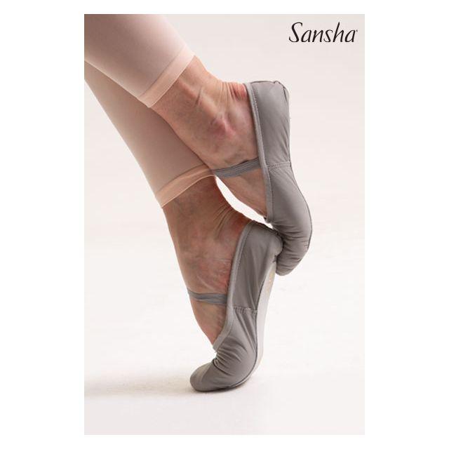 Sansha Leather full sole soft STAR 14Lpi
