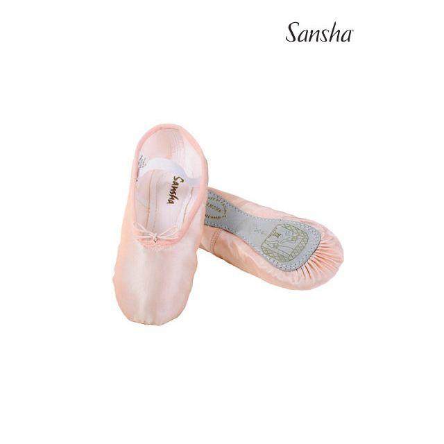 Sansha Soft satin full sole STAR 14S