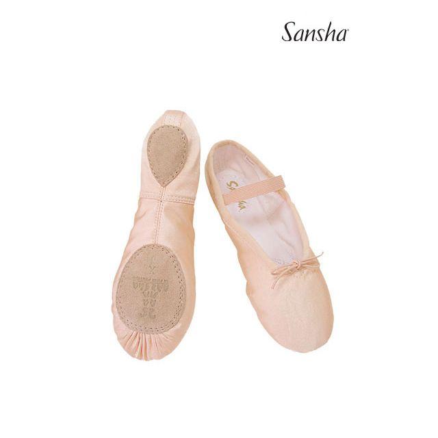Sansha ballet slipper split sole STAR-SPLIT 15S