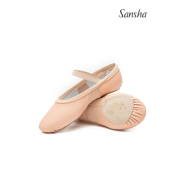 Sansha Leather upper mesh arch FLEUR-DE-LYS 162L