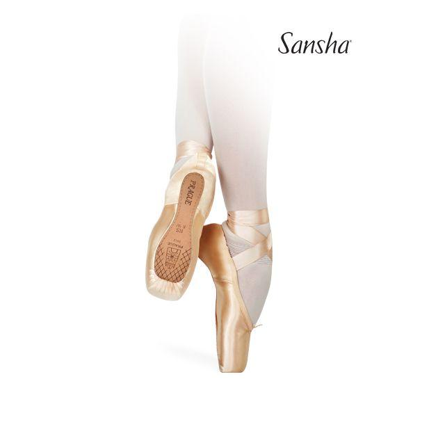 Sansha v-vamp pointe shoes PRAGUE 2012SL