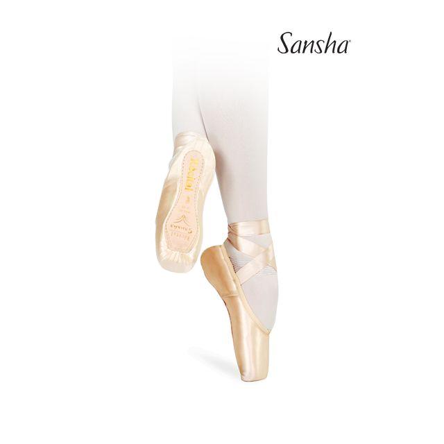 Sansha pointe shoes RECITAL II 202-2SP
