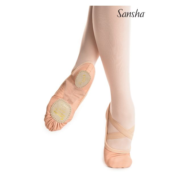 Sansha Canvas ballet slipper FLEX-1 331C