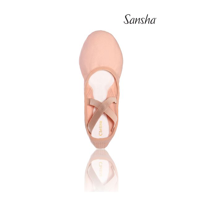 Sansha hi-quality ballet slipper stretch CHELSEA 35C