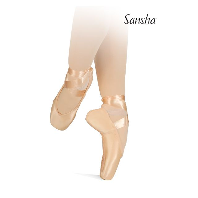 Sansha v-vamp pointe shoes LYRICA 404SL