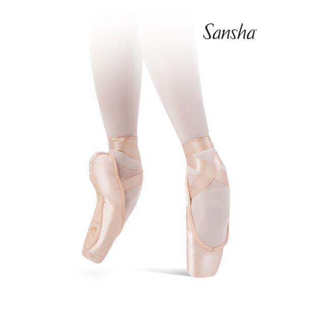 Sansha Flat box pointe shoes ALLEGRO 501S