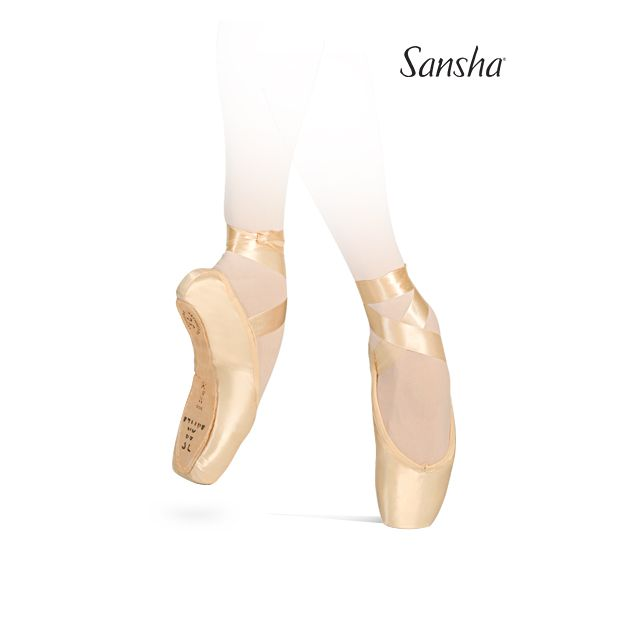 Sansha pointe shoes vegan sole ETUDES 505SP