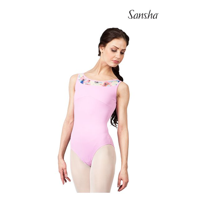 Sansha sleeveless leotard ABANA 50AE012M