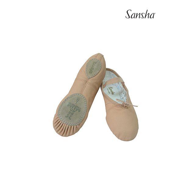 Sansha Ballet slipper TUTU-SPLIT 5Lpi