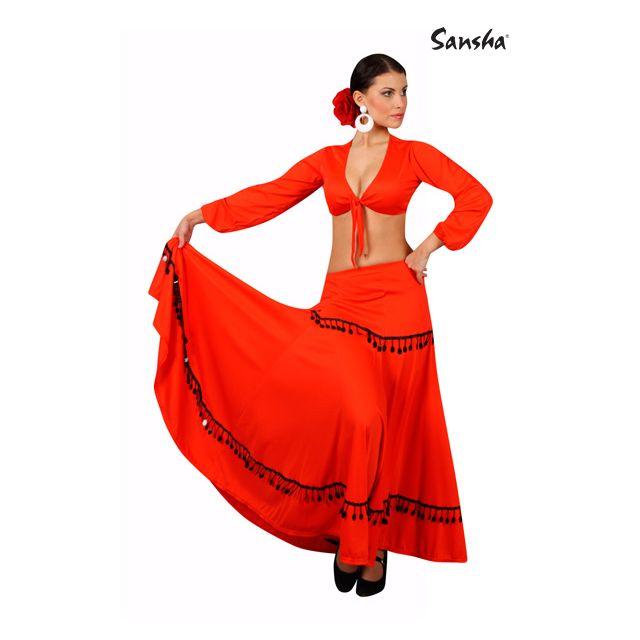 Sansha Flamenco skirt FELICIA L0902