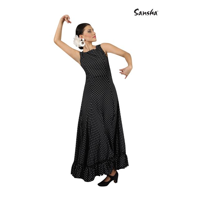 Sansha sleeveless flamenco dress DULCINEA L2901P