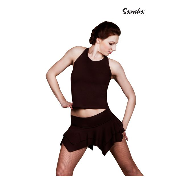 Sansha Ballroom halter top TOMASA W2008P