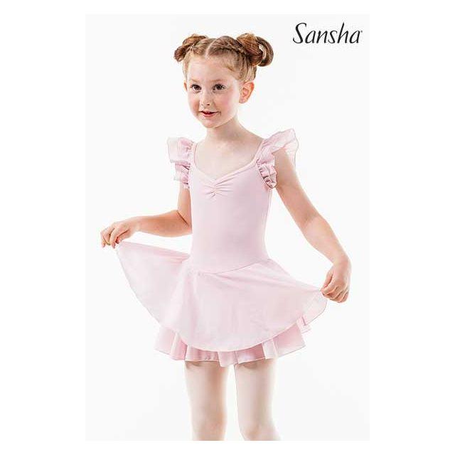 Sansha Tutu ruffle sleeves ARLENE 68AE006P