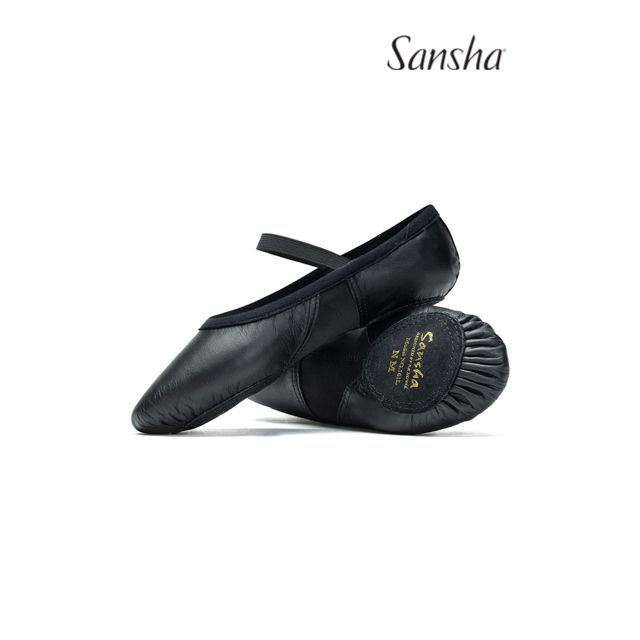 Sansha half toe ballet slipper BEL-AIR 161L