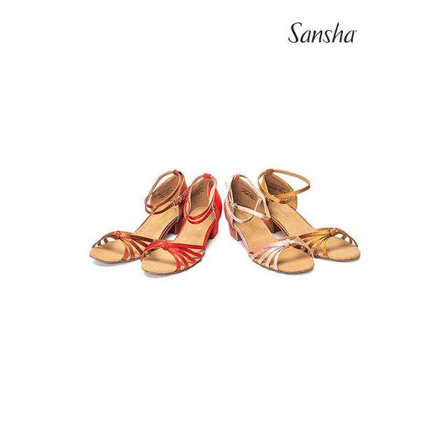 Sansha Ballroom suede sole GRACIA BK13026S
