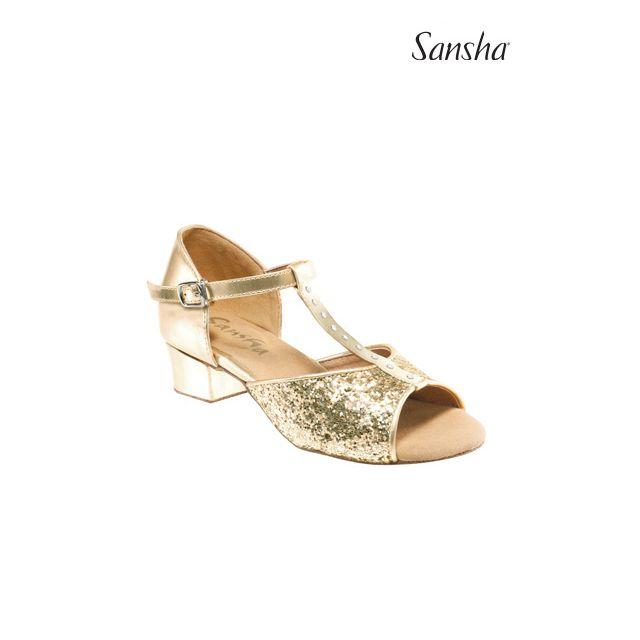 Sansha Glittery Ballroom ANA BK13048GL