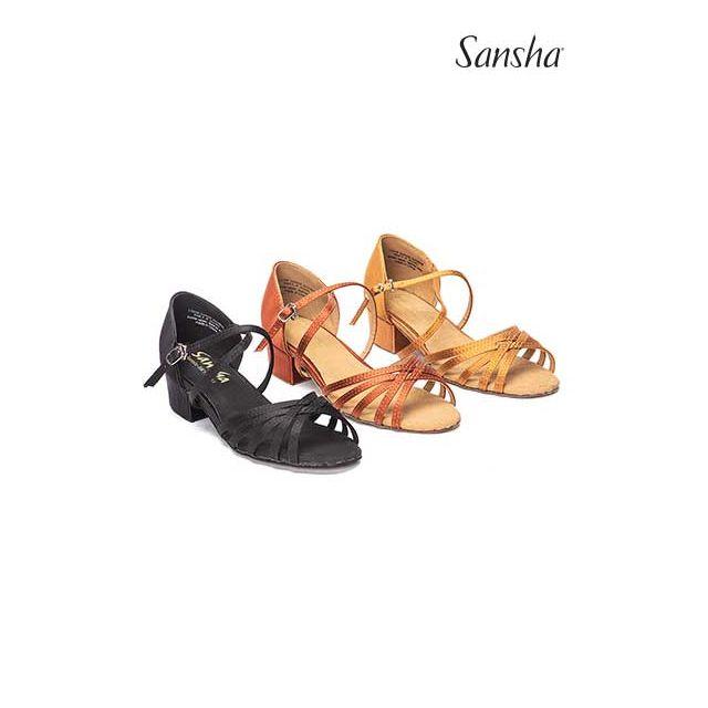 Sansha ballroom shoes JAZMIN BK13061S