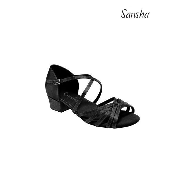 Sansha latin ballroom shoes JAZMIN BR13061S