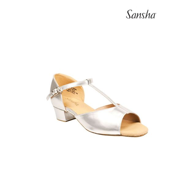 Sansha latin sandals MARVELOUS BR13081PU