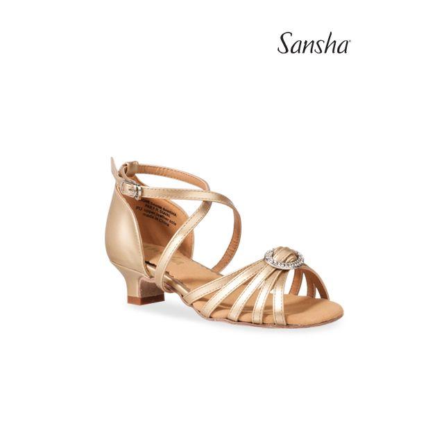 Sansha ballroom shoes LUCIA BK15042PU