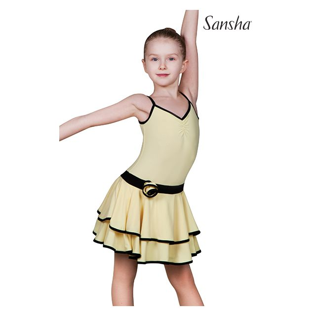 Sansha camisole ballroom dress BLANCA Y1708P