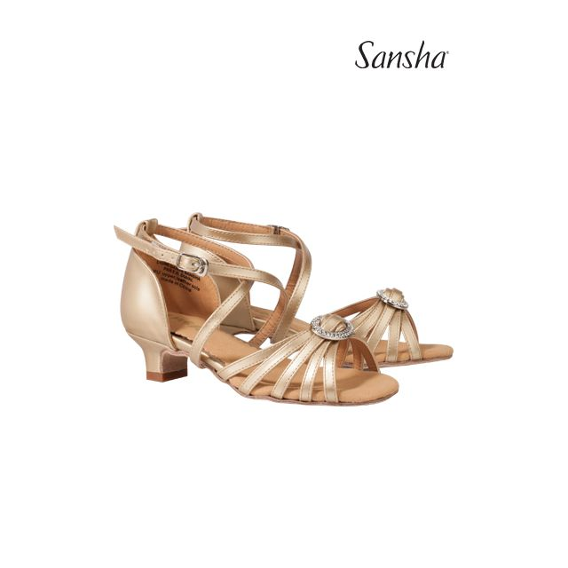 Sansha latin ballroom shoes LUCIA BR15042PU