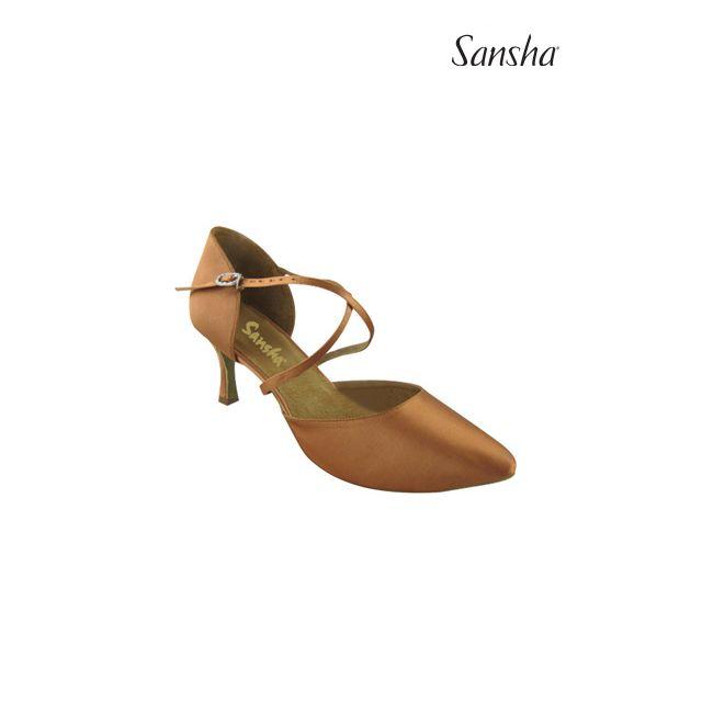 Sansha ballroom shoes suede sole EVELINA BR30025S
