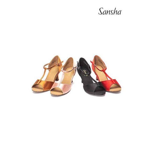 Sansha latin ballroom suede sole LAVINIA BR25029S
