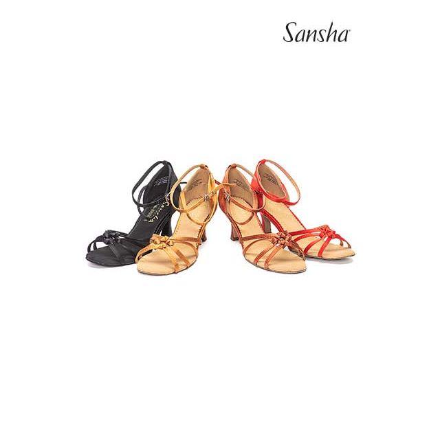 Sansha latin bow suede sole LUCINDA BR25030S