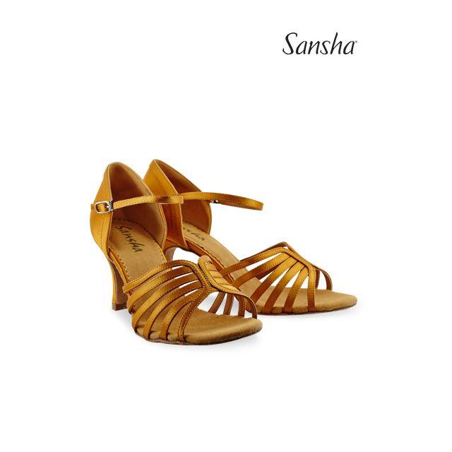 Sansha latin ballroom suede sole SELIA BR31036S
