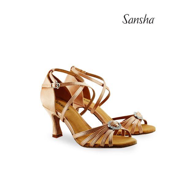Sansha latin ballroom shoes BARBARA BR31038S