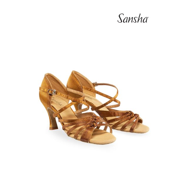 Sansha latin bows suede sole GIPSY BR31045S-1