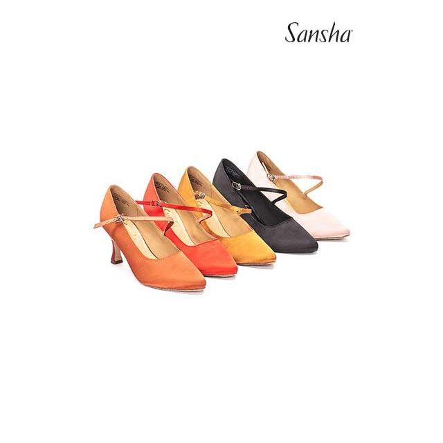 Sansha Standard suede sole MIREYA BR30068S