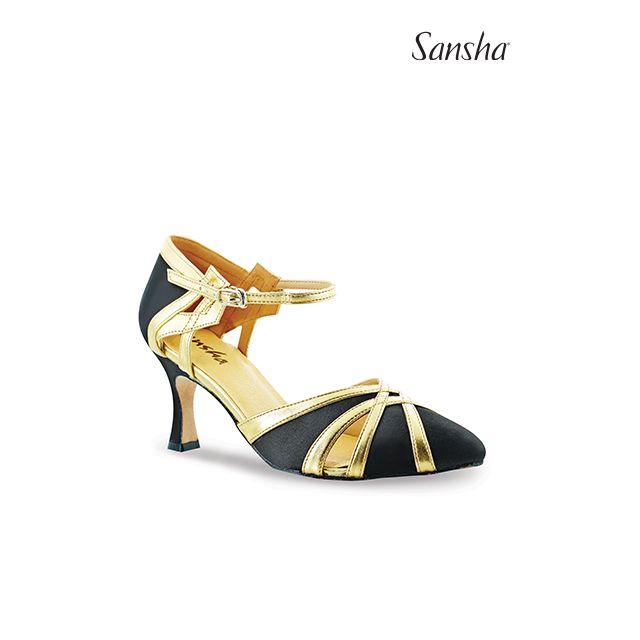 Sansha Woman ballroom suede sole GOLDA BR30078S
