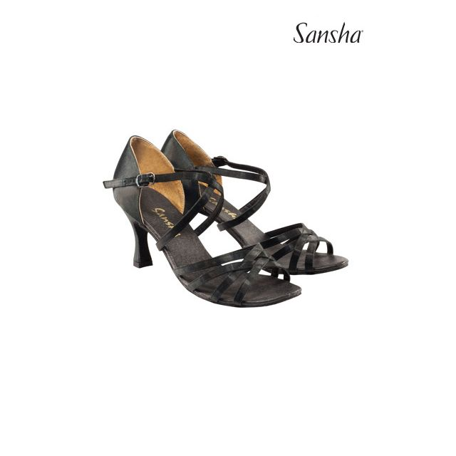 Sansha latin suede sole ROSA BR31007S