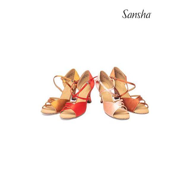 Sansha latin suede sole NINA BR31009S