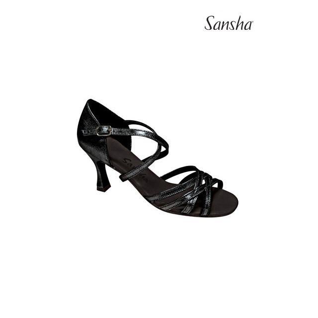 Sansha latin ballroom suede sole LOLA BR31014SC