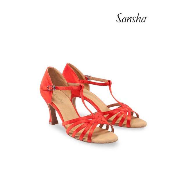 Sansha latin dance suede sole JUANITA BR31028S