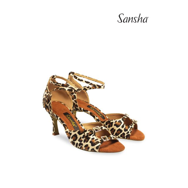 Sansha Ballroom suede sole MILANA BR30033S