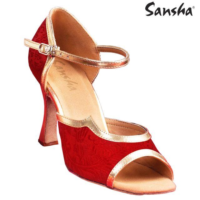 Sansha latin suede sole BAPTISTA BR31070S