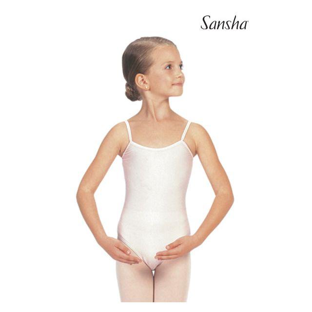 Sansha girls camisole leotard EMILIE C506C