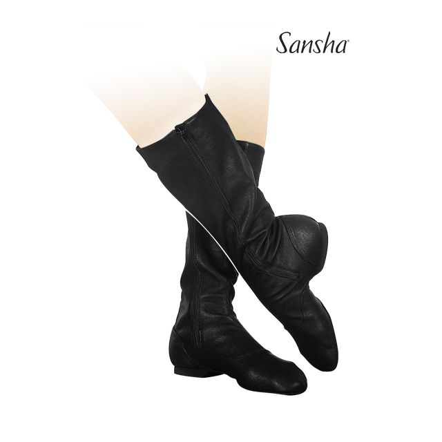 Sansha leather character boots DON FRANCO CB1L