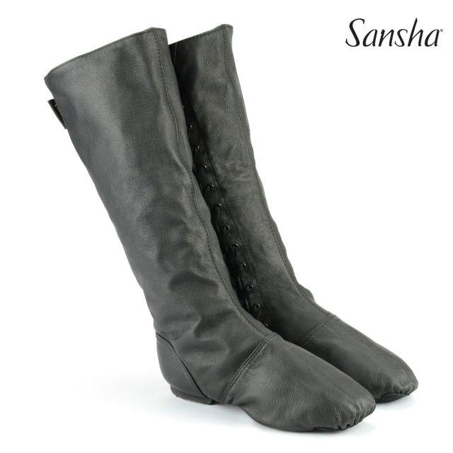 Sansha Character boots side laces DON DUVAL CB5