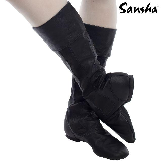 Sansha leather character boots DON FELIPE CB9L