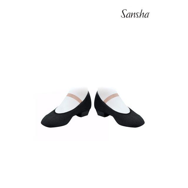 Sansha Character shoe fitted elastic MAZURKA CS1C