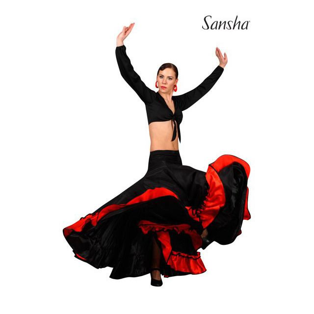 Sansha Flamenco skirt ADORA D0911P